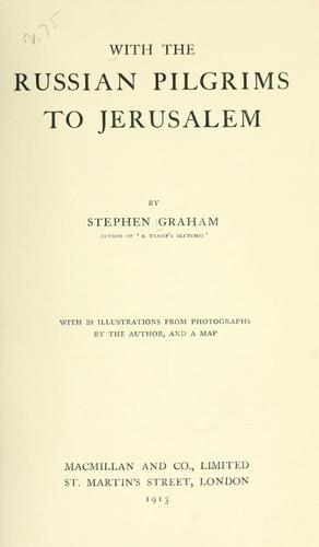 Download With the Russian pilgrims to Jerusalem