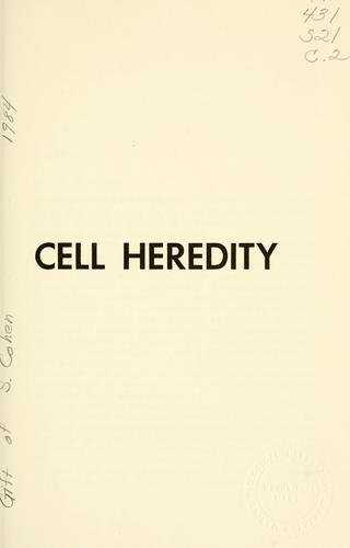 Download Cell heredity