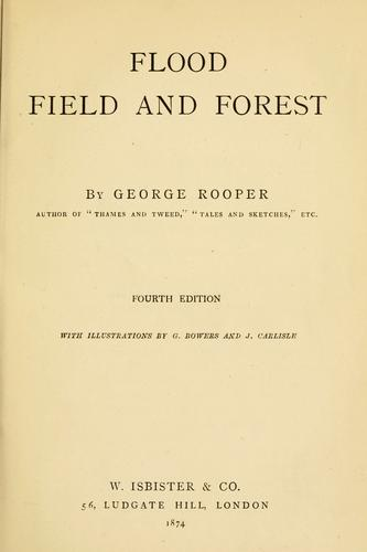 Download Flood, field and forest
