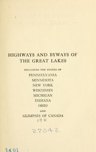 Download Highways and byways of the Great Lakes