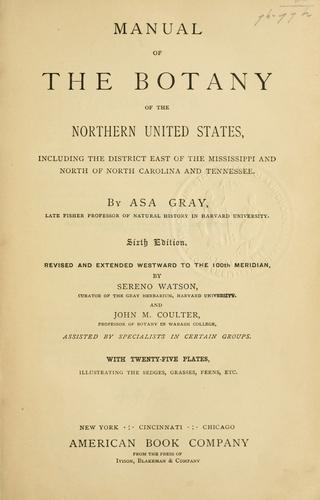 Download Manual of the botany of the northern United States