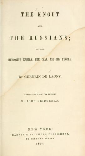 The knout and the Russians