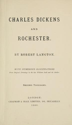 Download Charles Dickens and Rochester