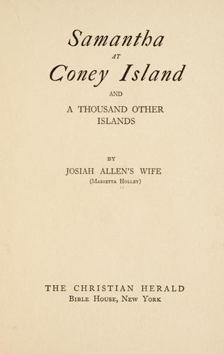 Download Samantha at Coney Island and a thousand other islands