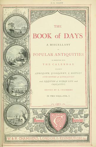 Download The book of days