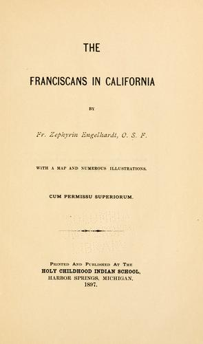 Download The  Franciscans in California