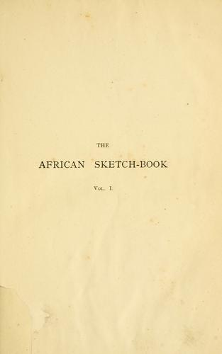 The African sketch-book