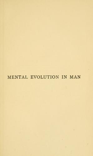 Download Mental evolution in man; origin of human faculty
