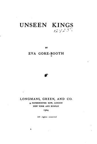 Unseen kings