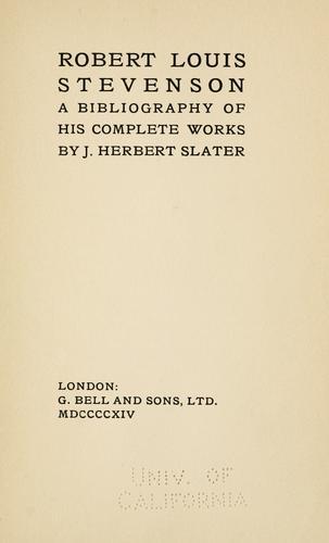 Download Robert Louis Stevenson