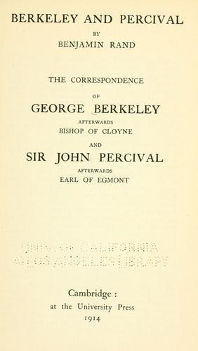 Download Berkeley and Percival