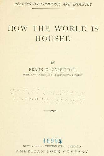 Download How the world is housed