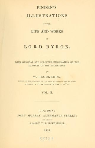 Download Finden's illustrations of the life and works of Lord Byron.