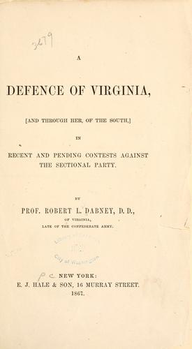 A defence of Virginia
