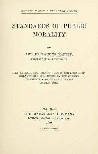 Download Standards of public morality