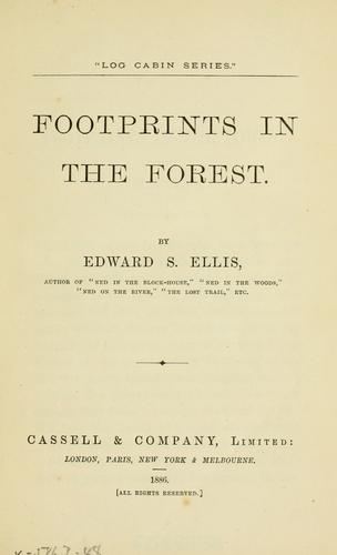 Footprints in the forest