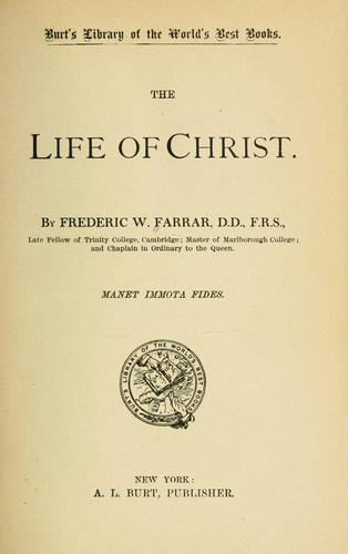 Download The life of Christ