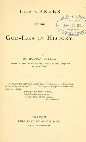 Download The career of the God-idea in history