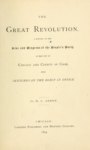 The great revolution