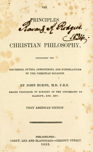 Download Principles of Christian philosophy