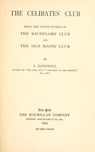 The celibates' club