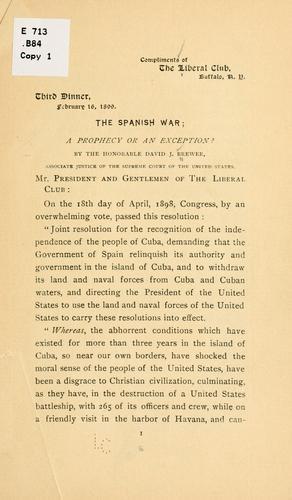Download The Spanish war