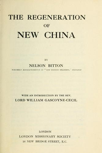 Download The regeneration of new China