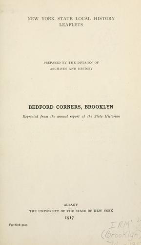 Download Bedford Corners, Brooklyn.