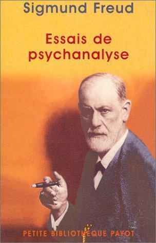 Essais de psychanalyse