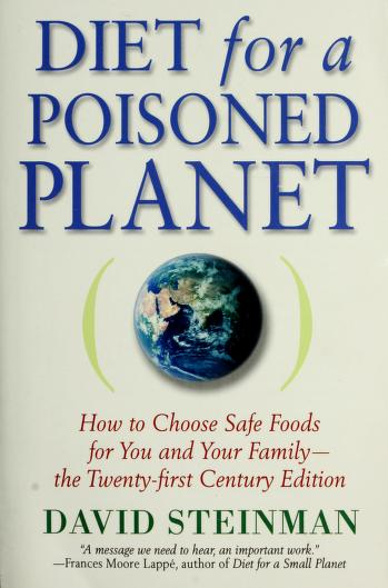 Cover of: Diet for a poisoned planet | David Steinman
