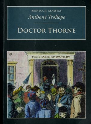 Cover of: Dr Thorne (Nonsuch Classics) | Anthony Trollope