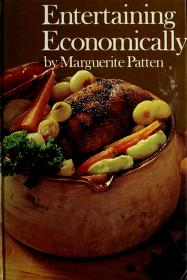 Cover of: Entertaining economically | Marguerite Patten