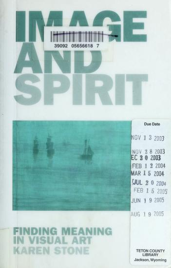 Cover of: Image and spirit | Karen Stone
