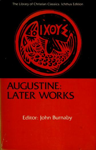Cover of: Later works. | Augustine of Hippo