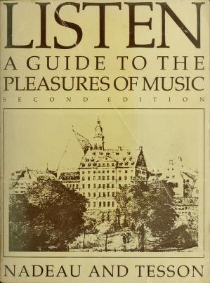 Cover of: Listen   Roland Nadeau