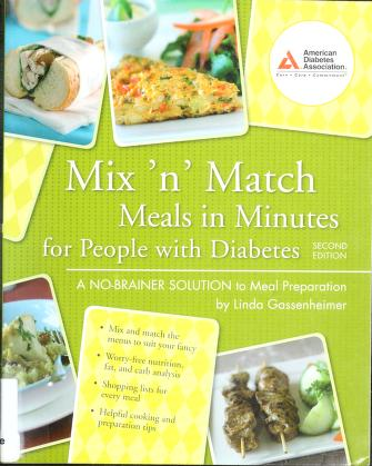 Cover of: Mix 'n match meals in minutes for people with diabetes | Linda Gassenheimer