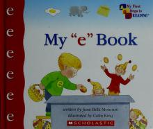 """Cover of: My """"e"""" book 