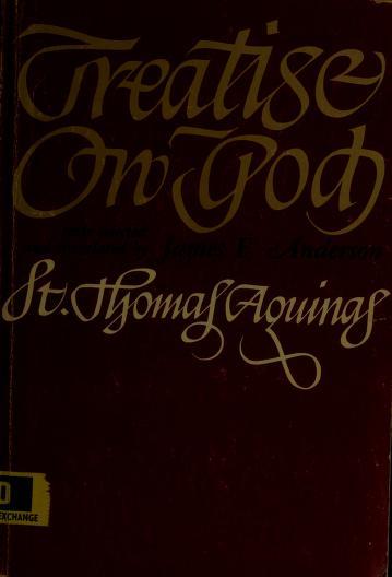 Cover of: Treatise on God. | Thomas Aquinas