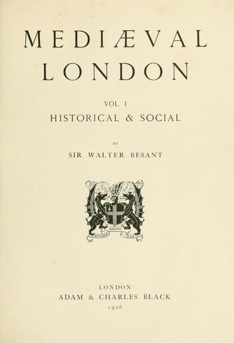 The survey of London.