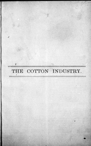 The Cotton industry by