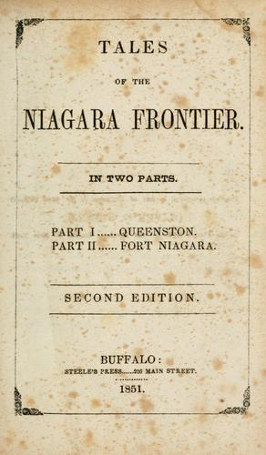 Tales of the Niagara Frontier by Jesse Walker