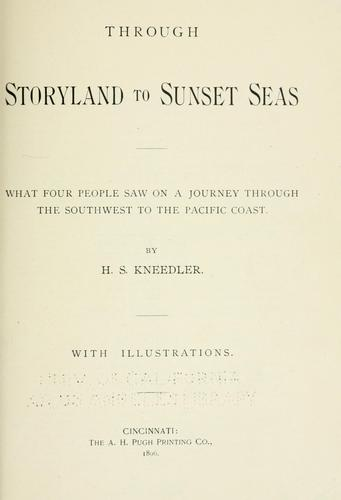 Through storyland to sunset seas