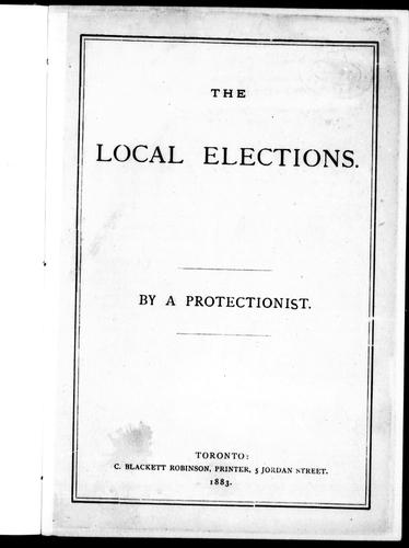 The local elections by Protectionist