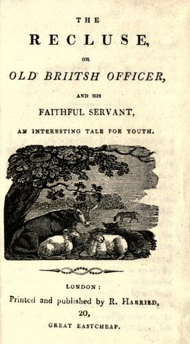The Recluse, or, Old Briitsh [sic] officer and his faithful servant by
