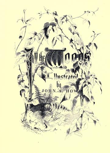 In the woods with Bryant, Longfellow, and Halleck by John Augustus Hows
