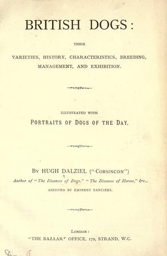 British dogs by Hugh Dalziel