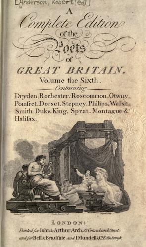 The works of the British poets.