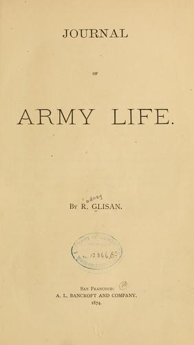 Journal of army life.