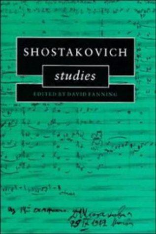 Shostakovich studies by
