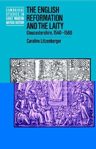 The English Reformation and the laity by C. J. Litzenberger